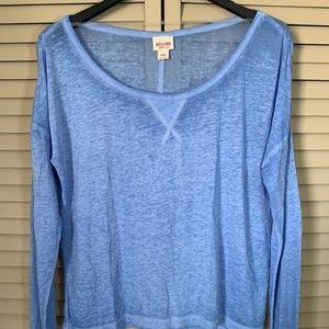 Mossimo Light Blue long sleeve